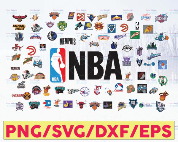 WTMETSY16122020 05 58 Vectorency NBA Team Logos SVG Bundle, NBA SVG, Basketball SVG, PNG, SVG, JPG, EPS, DXF, Digital Download, Digital Design