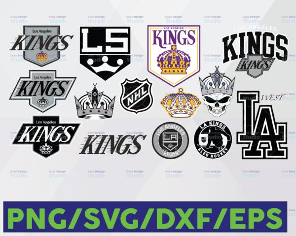 WTMETSY16122020 06 13 Vectorency Los Angeles Kings SVG, DXF, PNG, EPS, NHL SVG, Hockey Cricut, Hockey SVG, Hockey Logo, Download - Cut File, Clipart - Cricut - Silhouette Cameo