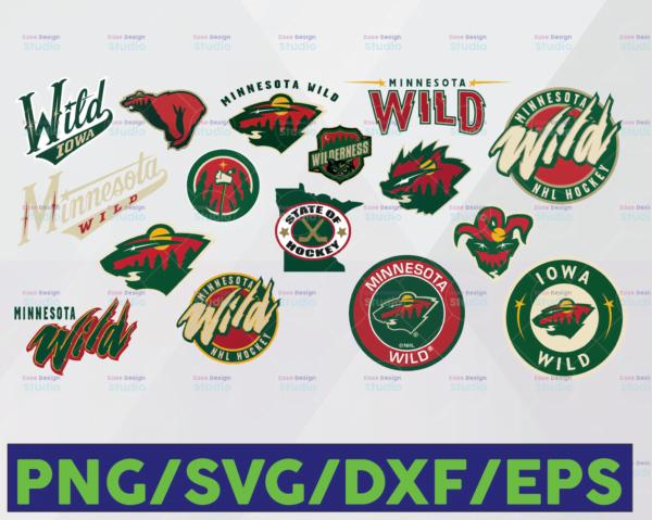 WTMETSY16122020 06 14 Vectorency Minnesota Wild SVG, DXF, PNG, EPS, NHL SVG, Hockey Cricut, Hockey SVG, Download - Cut File, Clipart - Cricut - Silhouette Cameo, Hockey Logo