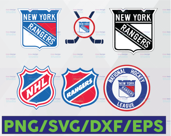 WTMETSY16122020 06 19 Vectorency New York Rangers SVG, Rangers SVG, NHL SVG, Hockey Cricut, Download - Cut File, Clipart - Cricut Explorer - Silhouette Cameo, Hockey Logo SVG