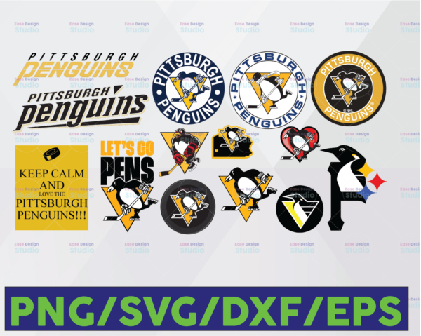 WTMETSY16122020 06 22 Vectorency Pittsburgh Penguins SVG, Penguins SVG, NHL SVG, Hockey Cricut, Download - Cut File, Clipart - Cricut Explorer - Silhouette Cameo, Hockey Logo