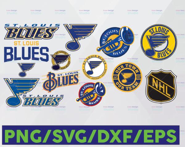 WTMETSY16122020 06 24 Vectorency St. Louis Blues Cut Files, St Louis Blues SVG Files, St Louis Blues SVG DXF Cutting Files, St Louis Blues Cuttable SVG File, Instant Download