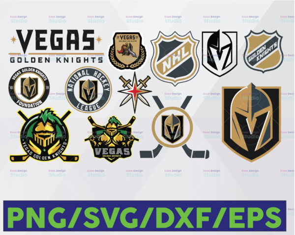 WTMETSY16122020 06 28 Vectorency Vegas Golden Knights SVG, Golden Knights SVG, NHL SVG, hockey cricut, Hockey Logo SVG, NHL Download - Cut File, Clipart - Silhouette Cameo