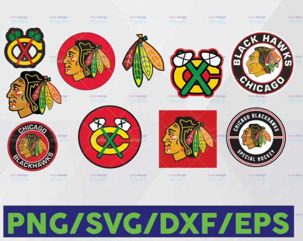 WTMETSY16122020 06 6 Vectorency Chicago Blackhawks SVG, Blackhawks SVG, NHL SVG, Hockey Cricut, Cut File, Clipart - Cricut Explorer - Silhouette Cameo, Hockey Logo SVG