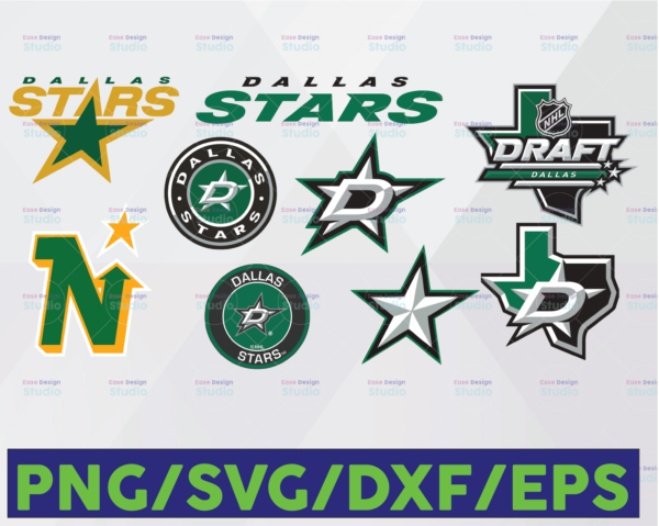 WTMETSY16122020 06 9 Vectorency Dallas Stars SVG ,DXF, PNG, EPS, NHL SVG, Hockey Cricut, Hockey SVG, Download - Cut File, Clipart - Cricut - Silhouette Cameo, Hockey Logo
