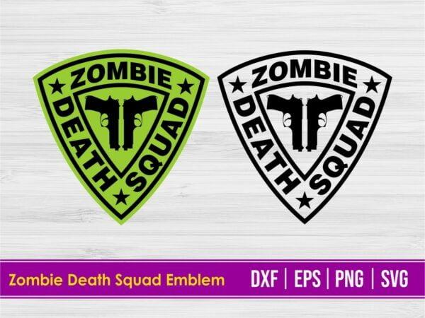 Zombie Death Squad Emblem Design
