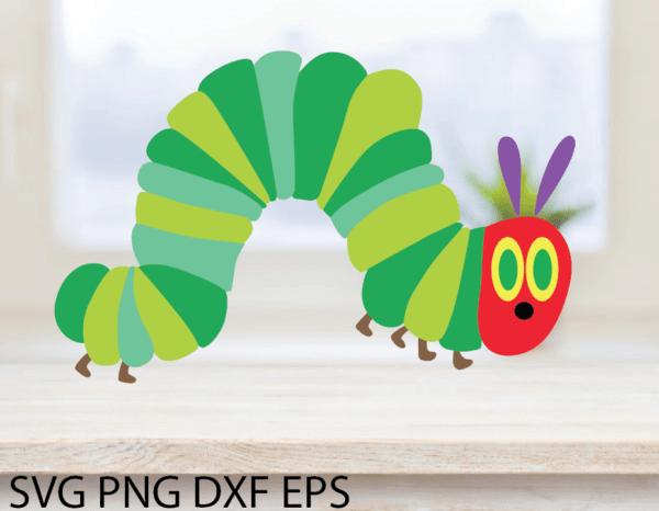 ac2nacy 01 8 Vectorency Hungry Caterpillar SVG, Eric Carle SVG Digital