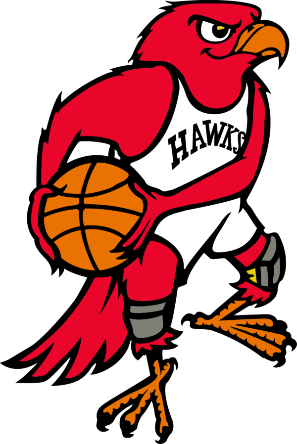 ah 08 Vectorency Atlanta Hawks SVG Files For Silhouette, Files For Cricut, SVG, DXF, EPS, PNG Instant Download