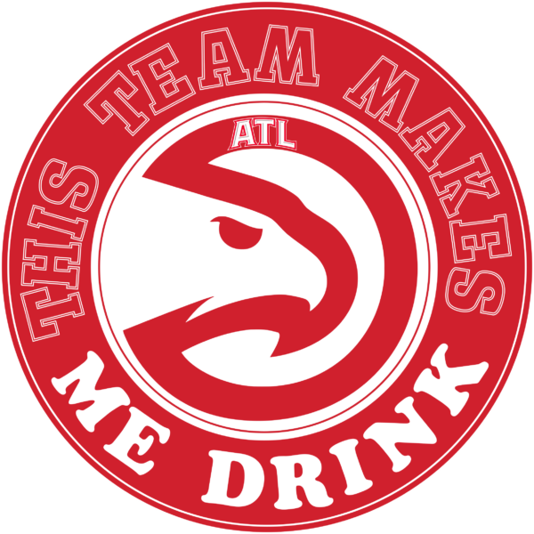 ah 12 Vectorency Atlanta Hawks SVG Files For Silhouette, Files For Cricut, SVG, DXF, EPS, PNG Instant Download