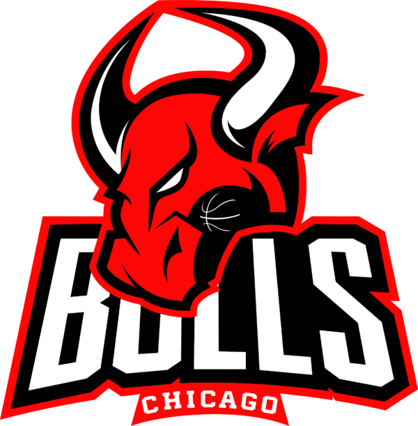bulls 12 Vectorency Chicago Bulls SVG Files For Silhouette, Files For Cricut, SVG, DXF, EPS, PNG Instant Download.