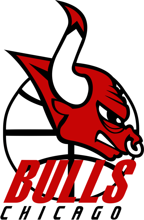 bulls 13 Vectorency Chicago Bulls SVG Files For Silhouette, Files For Cricut, SVG, DXF, EPS, PNG Instant Download.