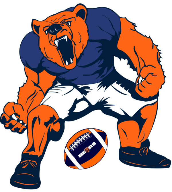 chicago bears 10 Vectorency Chicago Bears SVG Files For Silhouette, Files For Cricut, SVG, DXF, EPS, PNG Instant Download. Chicago Bears SVG, SVG Files For Silhouette, Files For Cricut, SVG, DXF, EPS, PNG Instant Download