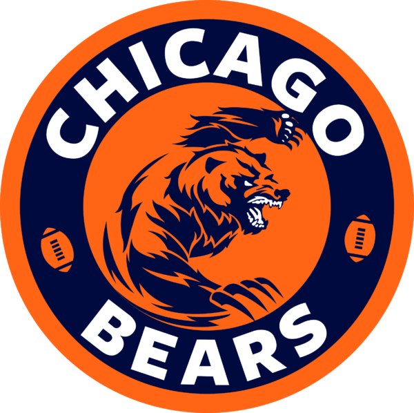 chicago bears 18 Vectorency Chicago Bears SVG Files For Silhouette, Files For Cricut, SVG, DXF, EPS, PNG Instant Download. Chicago Bears SVG, SVG Files For Silhouette, Files For Cricut, SVG, DXF, EPS, PNG Instant Download