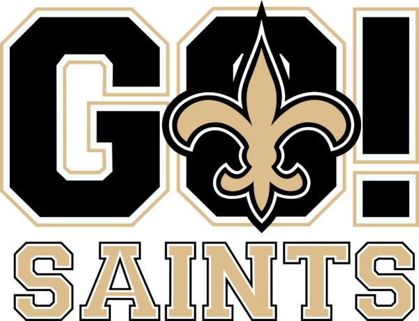 new orleans saints 10 Vectorency New Orleans Saints SVG, SVG Files For Silhouette, Files For Cricut, SVG, DXF, EPS, PNG Instant Download.