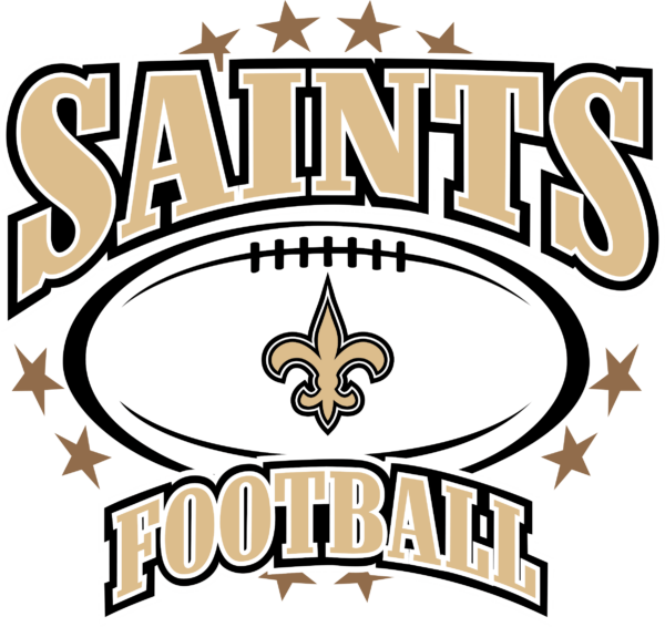 new orleans saints 11 Vectorency New Orleans Saints SVG, SVG Files For Silhouette, Files For Cricut, SVG, DXF, EPS, PNG Instant Download.