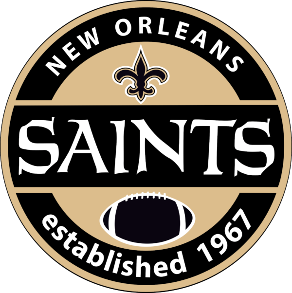 new orleans saints 17 Vectorency New Orleans Saints SVG, SVG Files For Silhouette, Files For Cricut, SVG, DXF, EPS, PNG Instant Download.