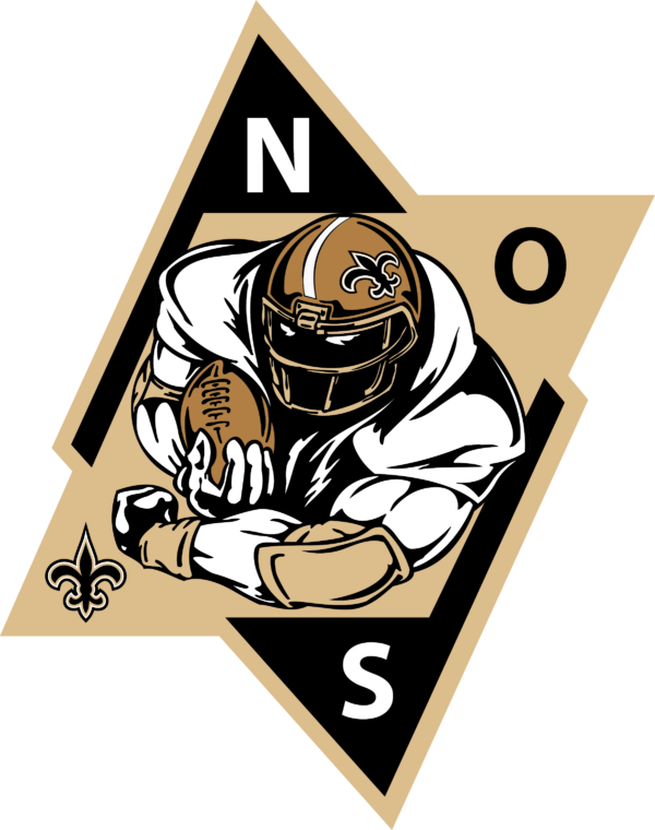 new orleans saints 20 Vectorency New Orleans Saints SVG, SVG Files For Silhouette, Files For Cricut, SVG, DXF, EPS, PNG Instant Download.