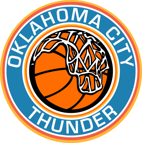 oklahoma c thunder 07 Vectorency Oklahoma City Thunder SVG Files For Silhouette, Files For Cricut, SVG, DXF, EPS, PNG Instant Download.