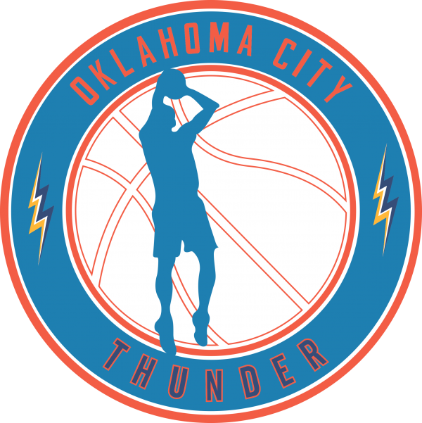 oklahoma c thunder 12 Vectorency Oklahoma City Thunder SVG Files For Silhouette, Files For Cricut, SVG, DXF, EPS, PNG Instant Download.