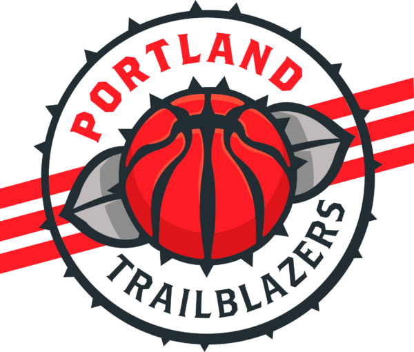 portland tb 10 Vectorency Portland Trail Blazers SVG Files For Silhouette, Files For Cricut, SVG, DXF, EPS, PNG Instant Download.