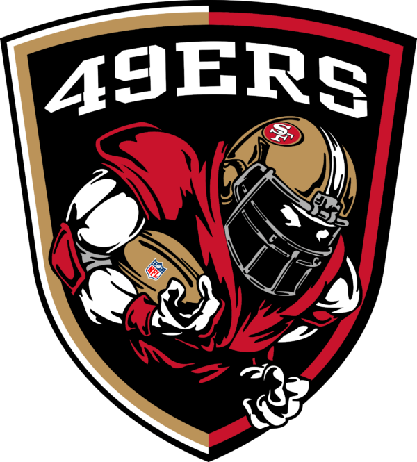 san francisco 49 ers 10 Vectorency San Francisco 49Ers SVG Files For Silhouette, Files For Cricut, SVG, DXF, EPS, PNG Instant Download.