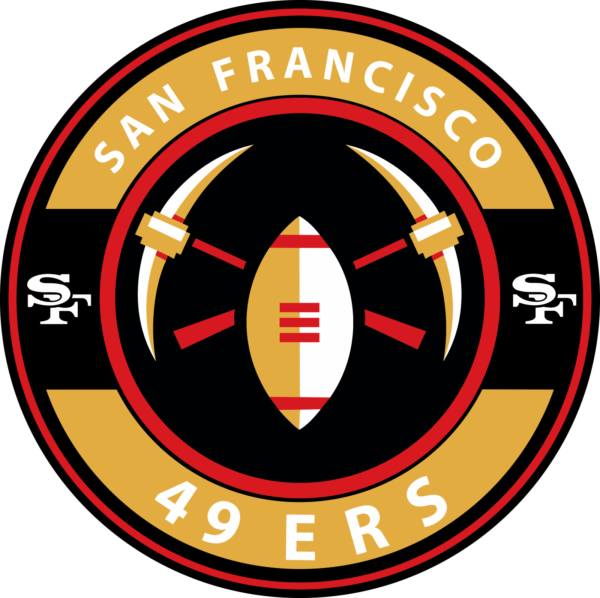 san francisco 49 ers 13 Vectorency San Francisco 49Ers SVG Files For Silhouette, Files For Cricut, SVG, DXF, EPS, PNG Instant Download.