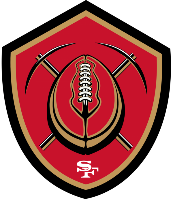 san francisco 49 ers 16 Vectorency San Francisco 49Ers SVG Files For Silhouette, Files For Cricut, SVG, DXF, EPS, PNG Instant Download.