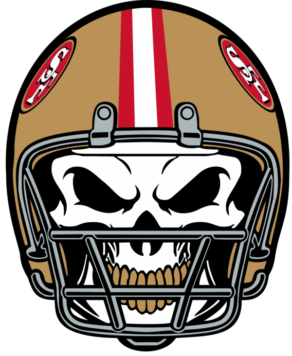 san francisco 49 ers 18 Vectorency San Francisco 49Ers SVG Files For Silhouette, Files For Cricut, SVG, DXF, EPS, PNG Instant Download.