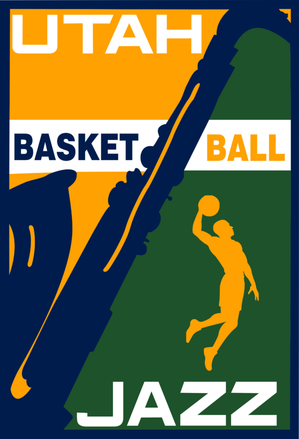 utah jazz 15 Vectorency Utah Jazz SVG Files For Silhouette, Files For Cricut, SVG, DXF, EPS, PNG Instant Download.