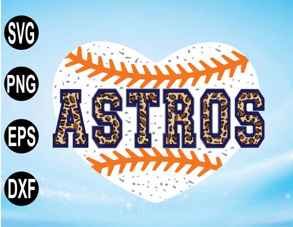 wtm 01 11 Vectorency Astros SVG, Astros Baseball SVG, Astros PNG, EPS, DXF