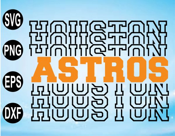 wtm 01 12 Vectorency Stacked Houston Astros SVG & PNG