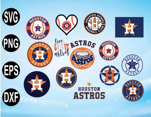 wtm 01 3 Vectorency Houston Astros Set Design SVG Files, Cricut, Silhouette Studio, Digital Cut Files, Houston Astros svg