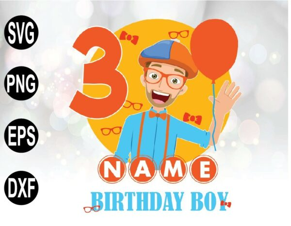 wtm 01 44 Vectorency Personalized The Best Blippi SVG