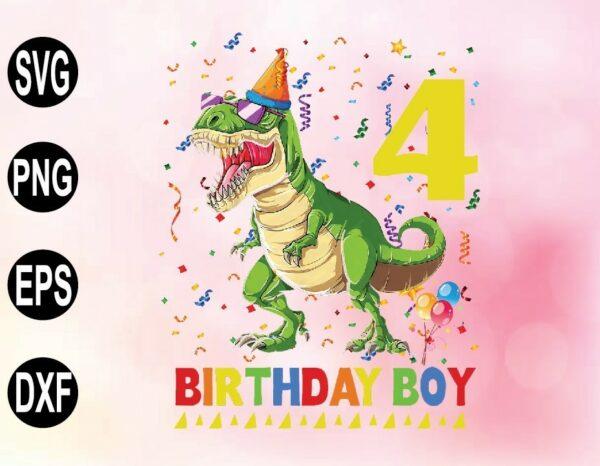 wtm 02 60 Vectorency Rawr I'm 4 PNG, Funny Dinosaur Birthday SVG, Customized Birthday, Rawr I'm Four PNG, 4 Year Old Birthday Boy, Sublimation Designs, Birthday Digital