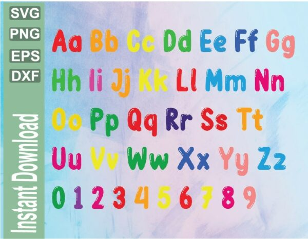 wtm 03 32 Vectorency Cocomelon Alphabet SVG, Cocomelon SVG, Cocomelon Numbers SVG