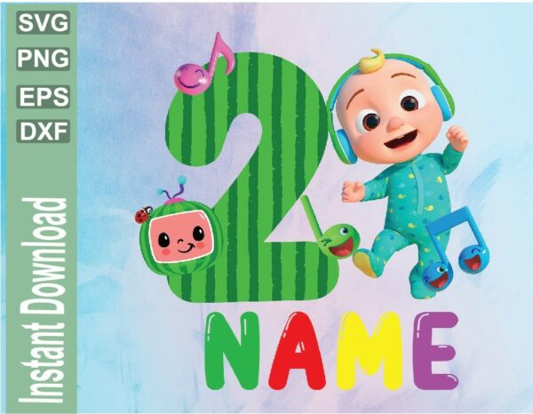 wtm 03 35 Vectorency Cocomelon Personalized Birthday