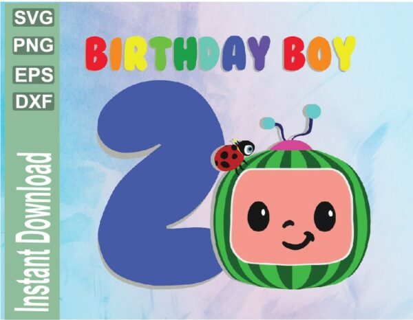 wtm 03 45 Vectorency Cocomelon Birthday Image, JPG, PNG