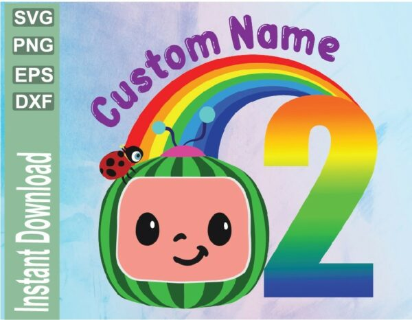 wtm 03 7 Vectorency Cocomelon Personalized Birthday SVG File, Custom SVG, Lovely Customize PNG, Children File SVG PNG EPS