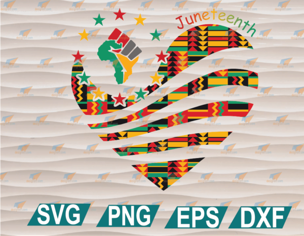 wtm web 01 106 Vectorency Juneteenth Freedom PNG, SVG, PNG, EPS, DXF, Digital File