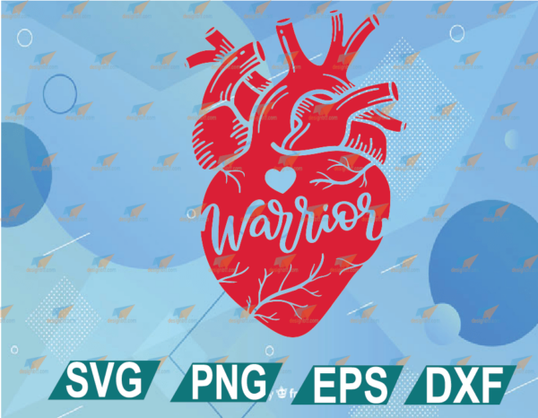 wtm web 01 12 Vectorency CHD Awareness Heart Warrior SVG DXF PNG Cricut Cut Files, Anatomical Heart Disease Aware, CHD Mom or Kid T-Shirt Designs