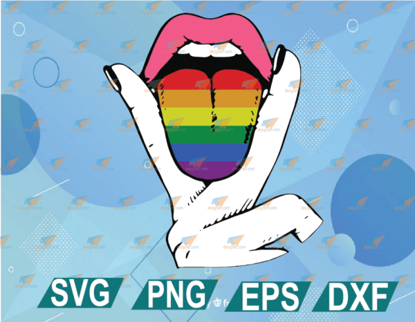 wtm web 01 27 Vectorency LGBT Pride Lesbian Tongue SVG PNG EPS DXF, LGBT SVG Cricut File Silhouette Art