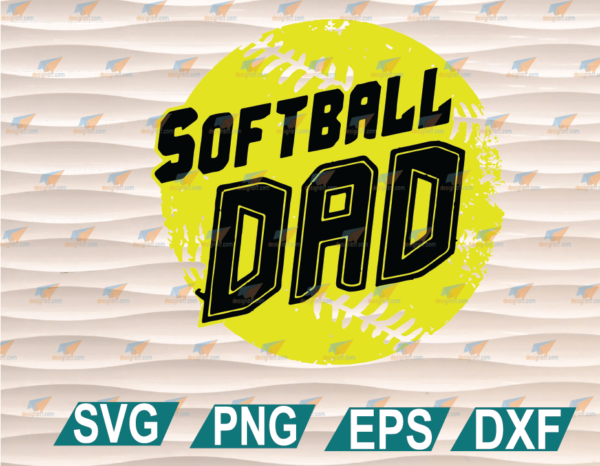 wtm web 01 75 Vectorency Dad Softball SVG, Father's Day SVG, Softball Dad SVG, American Softball Dad SVG, Cricut, Cricut File, Clipart, SVG, PNG, EPS, DXF