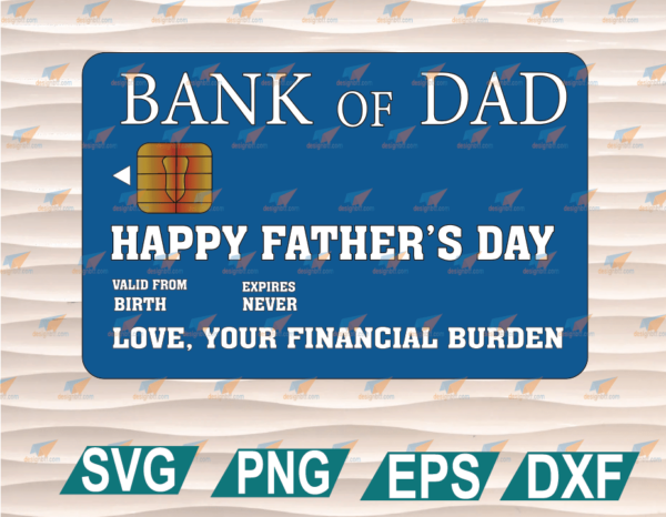 wtm web 01 79 Vectorency Bank Of Dad Clipart, SVG, PNG, EPS, DXF, Digital File