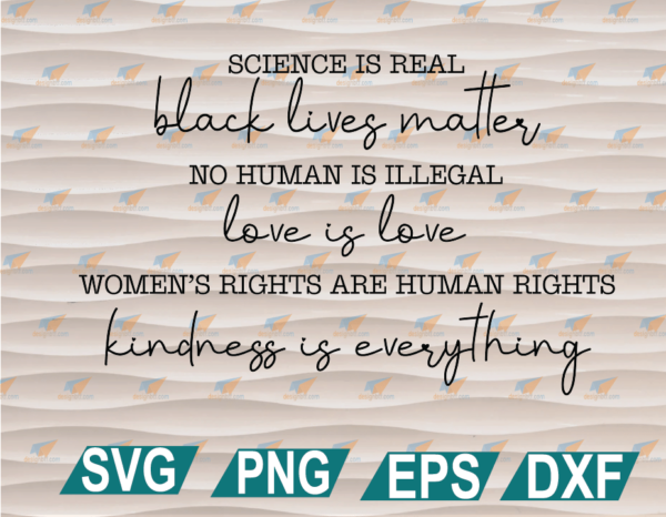 wtm web 01 87 Vectorency Science is Real SVG, Black Lives Matter, Black Lives Matter SVG, Womens Rights, Womens Rights Clipart, SVG, PNG, EPS, DXF, Digital File