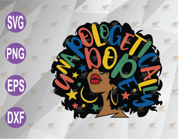 wtm web 04 58 Vectorency Unapologetically Dope SVG, Dope Girl SVG, Black Woman SVG, Unapologetically Dope Afro Black Dowload SVG PNG