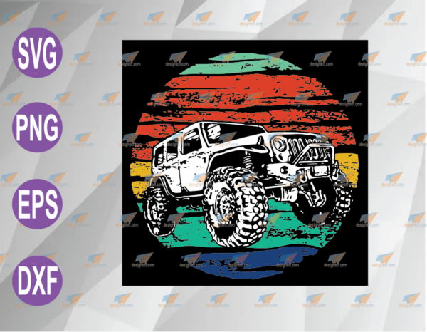 wtm web 04 62 Vectorency Offroad Jeep SVG, PNG, EPS, DXF, Digital File