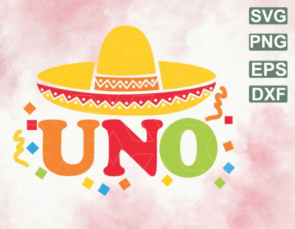 wtm web 06 19 Vectorency Uno Birthday Svg, Fiesta Birthday Svg, Mexican Birthday Svg, 1st Birthday Svg, Spanish Svg, Girls Boys Birthday Svg, Shirt Tee Png Cut File