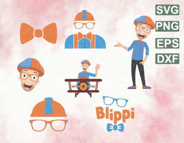 wtm web 06 4 Vectorency Blippi SVG Digital Download Bundle, Cricut, Vector Images, Clipart, Decals Tshirt Tumblers, Wall Decal, Wall Decor, Stickers, Kids Shows