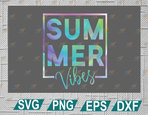 wtm web 2 01 6 Vectorency Summer Vibes Tie-Dye PNG, Summer Vibes PNG, Tie-Dye PNG, Hippie Color PNG, Summertime PNG, SVG, EPS, DXF, PNG