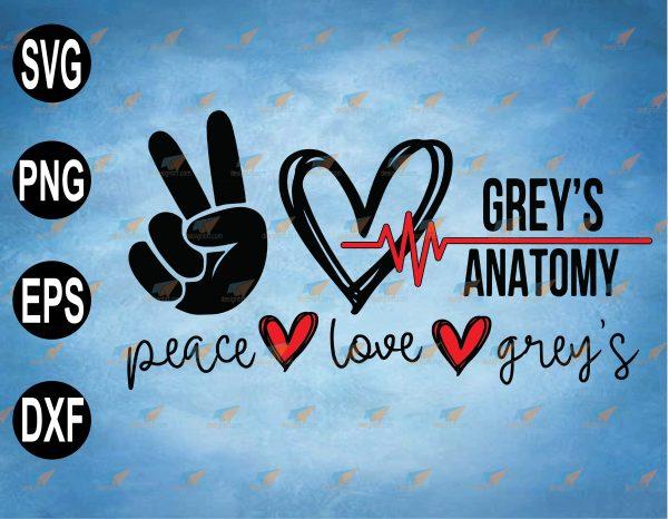 wtm web 2 03 15 Vectorency Peace Love Grey's Anatomy Svg,Grey's Anatomy Svg,TV show Svg, Grey Sloan Memorial Hospital Svg, Meredith Grey Svg ,Hospital Save Lives Svg